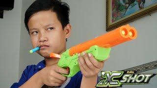 Download Đồ Chơi Bắn Súng Nerf Cuộc Chiến Nerf Và Xshot: NERF VS XSHOT BATTLE SHOT Video