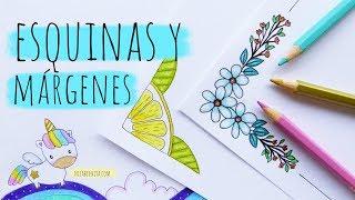 Download ESQUINAS Y MÁRGENES PARA CUADERNOS (3) 💜💚💛CÓMO DIBUJAR UN UNICORNIO KAWAII Video