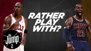 Download McGrady And Pierce Debate: LeBron Or MJ? | The Jump | ESPN Video