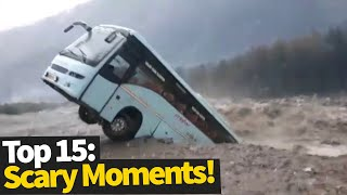 Download Top 15 Scary Moments Caught On Camera Video