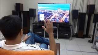 Download Teste: TV Samsung 4K 55 polegadas Video