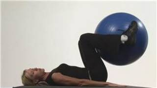 Download Stability Ball Exercises : Lower Abdomen Exercises With an Exercise Ball Video