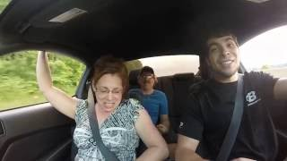Download Taking Mom for a ride in a 2013 Mustang Gt Video