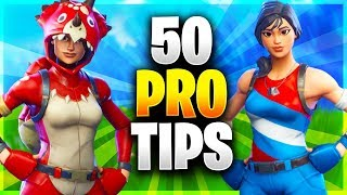 Download 50 PRO TIPS TO BECOME A GOD AT FORTNITE! All Advanced Tips/Ultimate Guide (Fortnite Battle Royale) Video