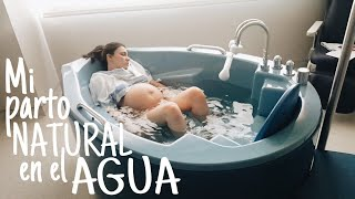 Download MI PARTO NATURAL EN EL AGUA // EL PARTO MÁS EMOTIVO // Bugyboo Vlogs Video