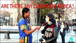 Download TURKISH REACTIONS: ARE THERE ANY CLOTHES IN AFRICA? Video