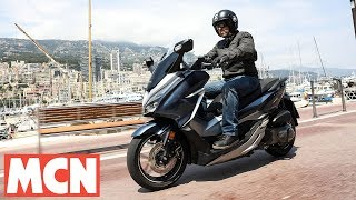 Download Honda Forza 300 & 125 | Scooter Test | Motorcyclenews Video