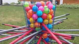 Download DIY Giant Outdoor Kerplunk Game Video