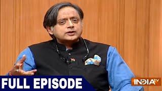 Download Congress leader Shashi Tharoor in Aap Ki Adalat (Full Episode) Video