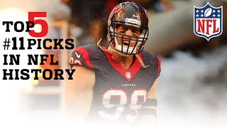 Download Top 5 #11 Draft Picks In NFL History | #CountdownToKickoff | NFL Video