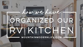 Download How we've Organized our RV Kitchen Video