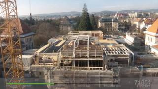 Download Zeitraffer Gregor Mendel Haus Dachgeschoss (Time Lapse) HD Video