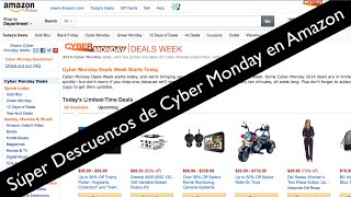 Download Cyber Monday en Amazon ofertas increibles en Tabletas, TV, Laptops Video