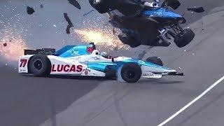 Download MASSIVE CRASH - 2017 Indy 500 Scott Dixon Crash Video