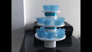 Download Como hacer una Base para cupcakes con cajas de carton - DIY - Giany Fashion Video