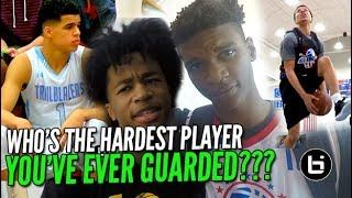 Download WHO'S THE HARDEST PLAYER YOU'VE EVER GUARDED? Part 2! Pangos All American Edition Video