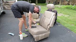 Download Cleaning The Dirtiest Car Interior Ever! Complete Disaster Full Interior Car Detailing Toyota Sienna Video
