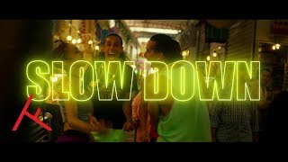 Download DIMITRI VEGAS & LIKE MIKE X QUINTINO - SLOW DOWN (FEAT. BOEF, RONNIE FLEX, ALI B & I AM AISHA) Video