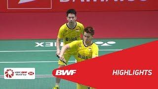 Download DAIHATSU Indonesia Masters 2018 | Badminton MD - F - Highlights | BWF 2018 Video