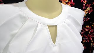 Download how to sewing a simple blouse model (37) Video