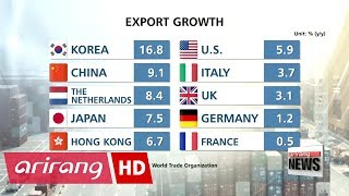 Download Korea's exports grow at fastest pace among world's top 10 exporters in Q2 Video