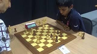 Download GM Hovhannisyan Robert - GM Rameshbabu Praggnanandhaa, Four Knights Game, Blitz chess Video