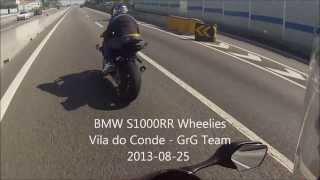 Download BMW S1000RR Wheelies - GrG Team - Vila do Conde (2013-08-25) Video
