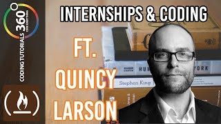 Download Internships and Coding Ft. Quincy Larson Founder of FreeCodeCamp Video