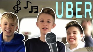 Download SINGING TO UBER DRIVERS 😂 Carson Lueders | Christian Lalama Video