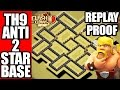 Download TH9 ANTI 2 STAR WAR BASE + REPLAYS | ANTI LAVALOON AND ANTI VALKYRIE Video