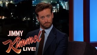 Download Armie Hammer Almost Missed His Baby's Birth Video