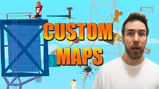 Download CUSTOM MAPS ON ULTIMATE CHICKEN HORSE IS RIDICULOUS Video
