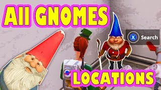 Download *ALL* 7 Hidden Gnome Locations Challenge (Fortnite Battle Royale) (Where to find) Video