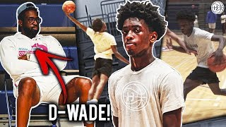 Download Dwyane Wade Watches Zaire NBA Workout w/His TRAINER! Zaire Wade Up Next! Video