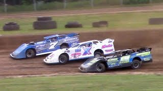 Download ULMS Super Late Model Heat Two | McKean County Family Raceway | 6-16-18 Video