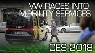 Download VW AG Races Into Mobility Services - CES 2018 Video