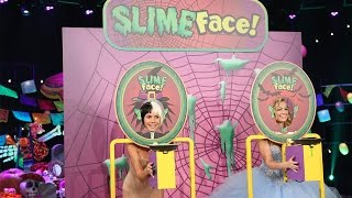 Download Heidi Klum and Beth Behrs Play Slime Face! Video