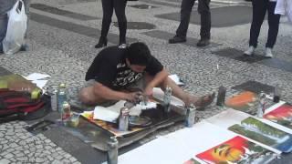 Download Artista de Rua em SP Video