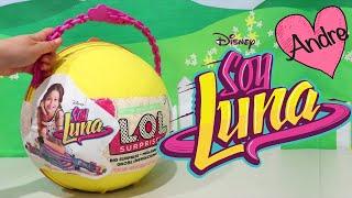 Download LOL Big Surprise DIY de Soy Luna | Muñecas y juguetes con Andre para niñas y niños Video