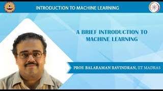 Download Week 1 - Lecture 1 - Introduction to Machine Learning Video