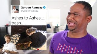 Download Gordon Ramsay ROAST Twitter Chefs AGAIN!! (PT 2) | Alonzo Lerone Video