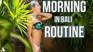 Download My Morning Routine In BALI Video