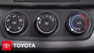 Download 2013 RAV4 How-To: Manual AC | Toyota Video