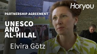 Download Elvira Götz @ UNESCO & Al-Hilal Saudi Football Club Partnership Signing Ceremony Video