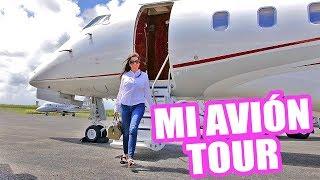 Download TE MUESTRO MI AVIÓN PRIVADO ♥ Jet Challenger 300 Tour! El Mundo de Camila Guiribitey Video