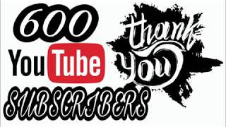 Download 600 SUBSCRIBERS THANK YOU!!! GIVEAWAY!!!! Video