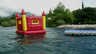Download An Englishman's boat is his [bouncy] castle Video