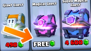 Download GET A ″FREE MAGICAL CHEST″ NOW!! Fast & EASY Method In Clash Royale Using Chest Cycle! Video