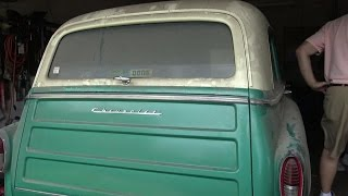 Download 1954 Chevrolet Station Wagon Texas Garage Find - Raw Footage Video