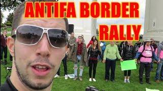 Download Squatting Slav TV vs Antifa Immigration Rally Video